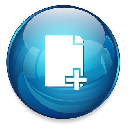 docs: copy document icon Illustration