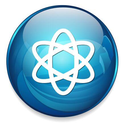 atom icon Illustration