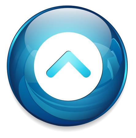 icono flecha: Icono de flecha Vectores