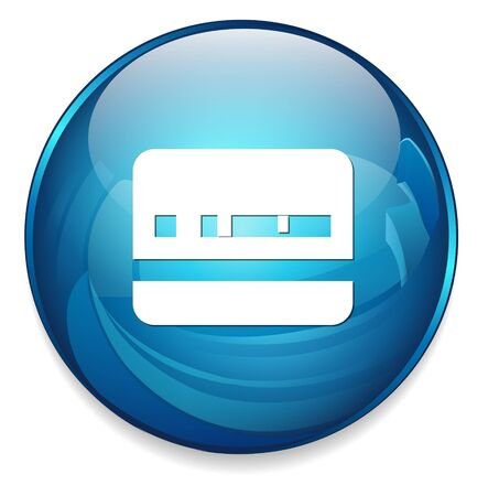 identification: Identification Card icon Illustration