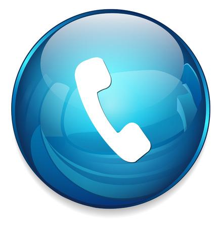 Telefon-Symbol Standard-Bild - 41451407