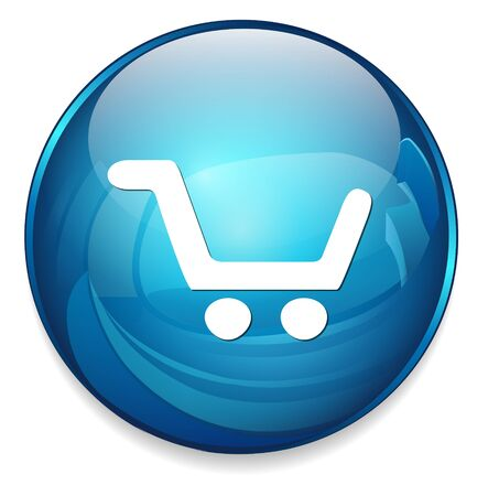 cart button: add to cart button, buy now icon Illustration