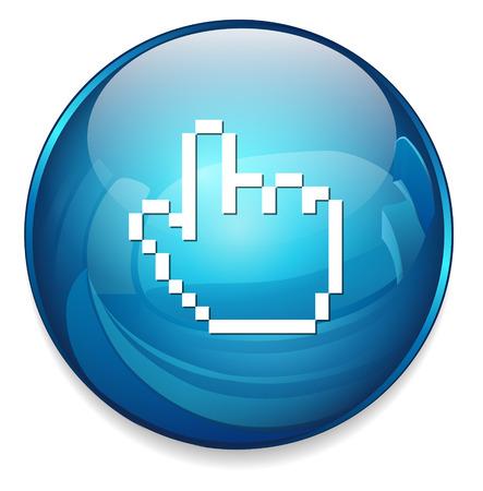 cursor: cursor hand icon