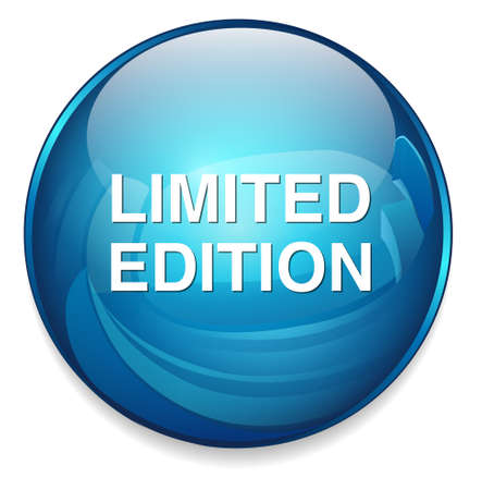 limited: limited edition button Illustration
