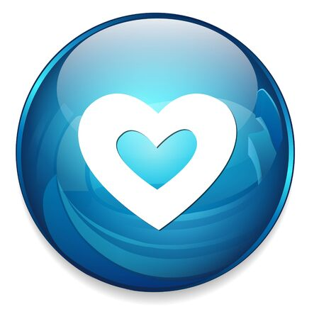 heart icon: heart  icon Illustration