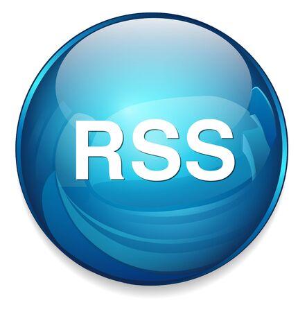 rss icon: rss  icon Illustration