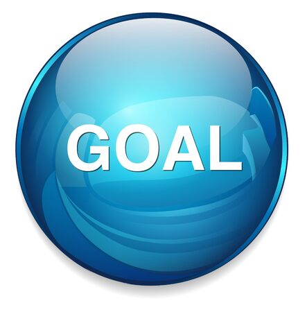 settings: goal icon Illustration