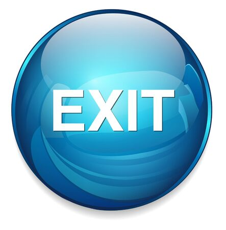 exit: exit icon Illustration