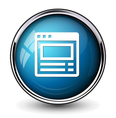 window bars: browser window button