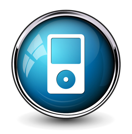 mp3 player: mp3 player icon Illustration