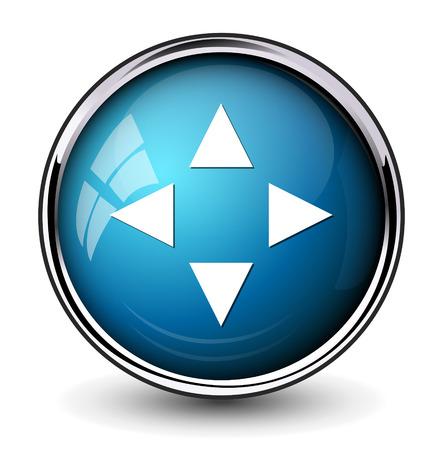 aim: Target aim symbol icon