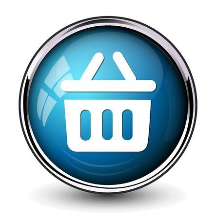 basket icon: shopping basket icon