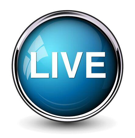live stream music: live icon