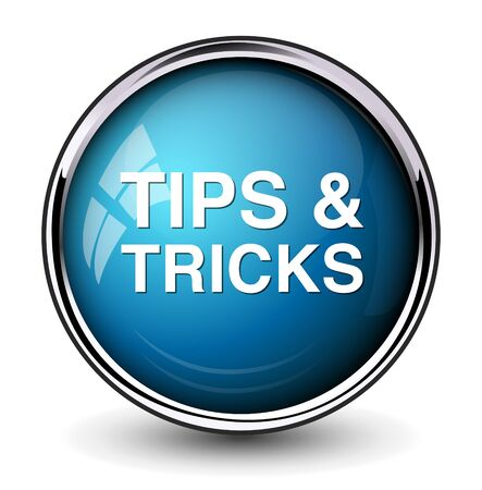 tricks: tips tricks button