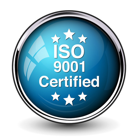 verified stamp: Iso icon Illustration