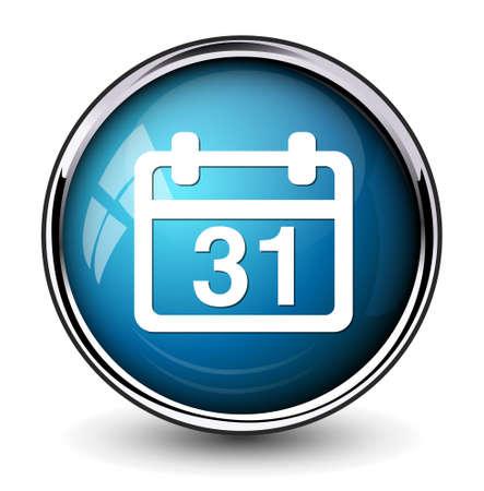 31: 31 calendar icon Illustration