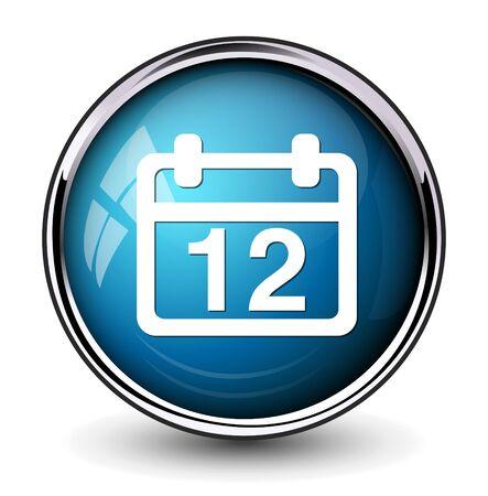 12: 12 calendar icon