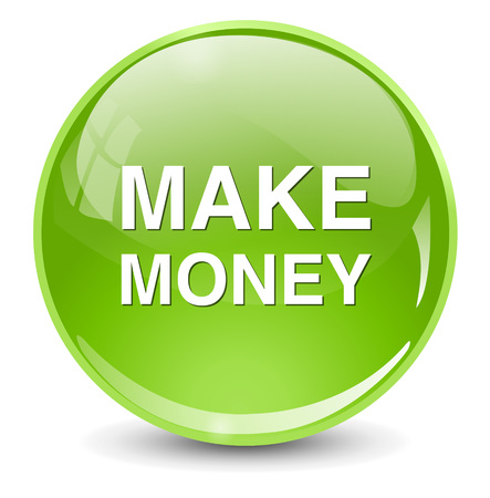make money: make money icon Illustration