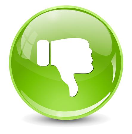 dislike: Afkeer (duim omlaag pictogram)