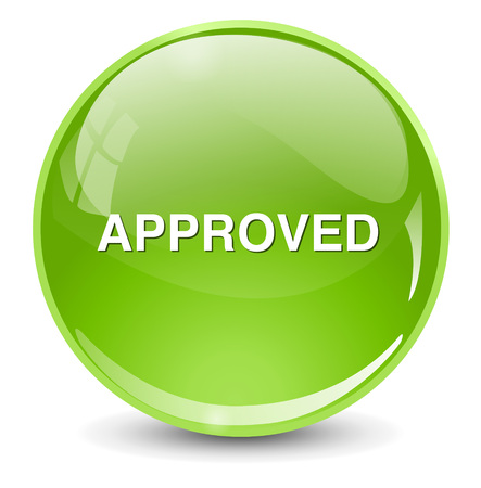 at button: approved  button