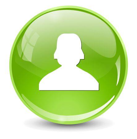 group icon: User icon Illustration
