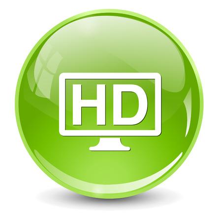 отображения: HD дисплей значок