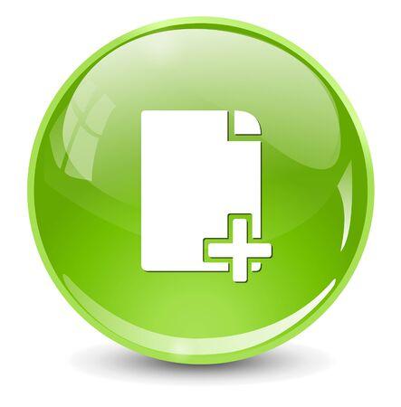 copy document icon Illustration