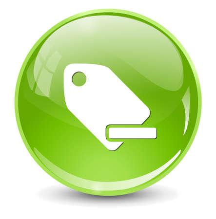 label tag: Tag label icon