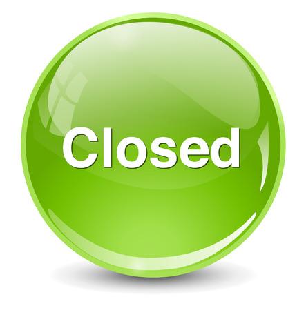 closed: Closed Button Illustration