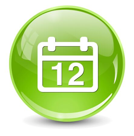 a 12: 12 calendar icon