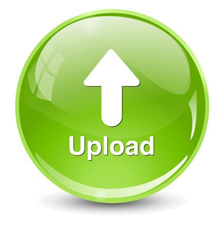 Upload Button, Upload icon