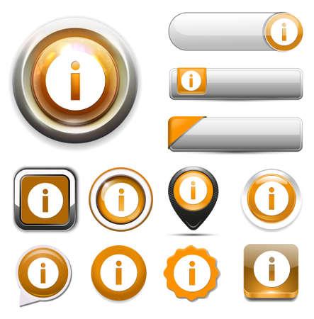 info: info button