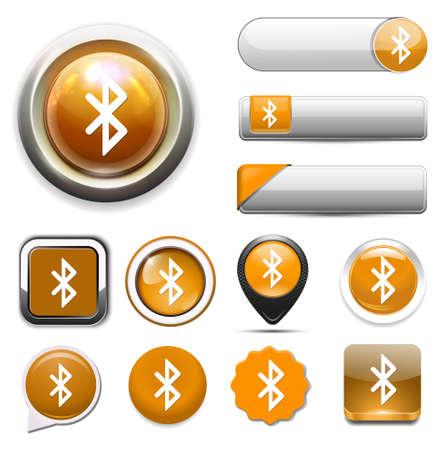 bluetooth: bluetooth icon  button