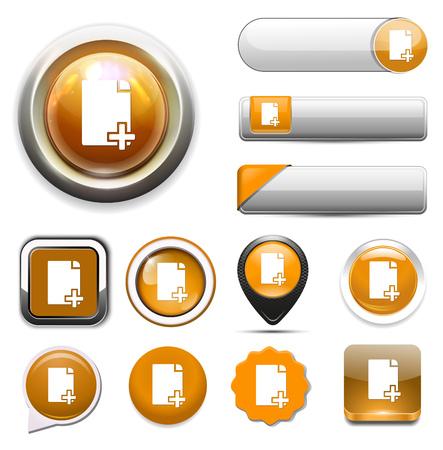 copy: copy document icon Illustration