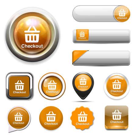 checkout: checkout icon Illustration