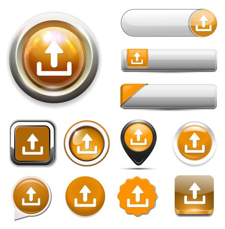 upload icon Illustration