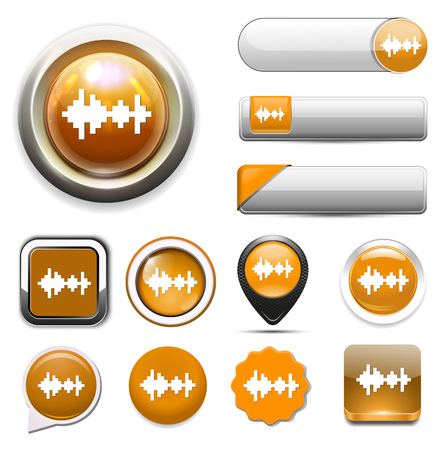 listen: Listen icon Illustration