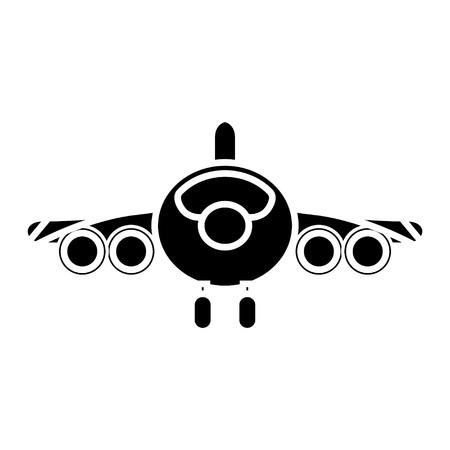 airplane icon Фото со стока - 80686254