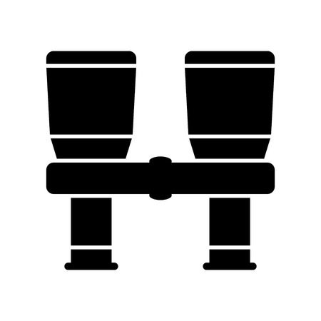 military watch: binocular icon