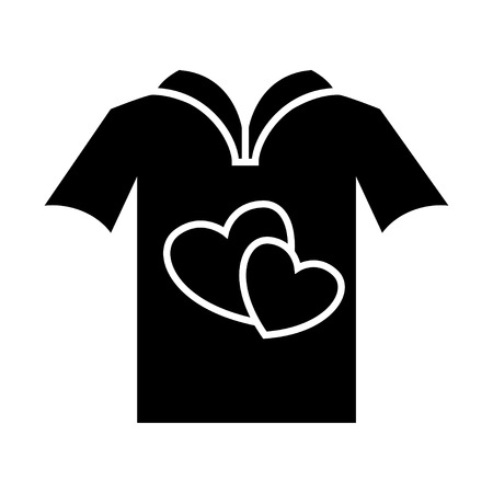 all love: love t-shirt icon
