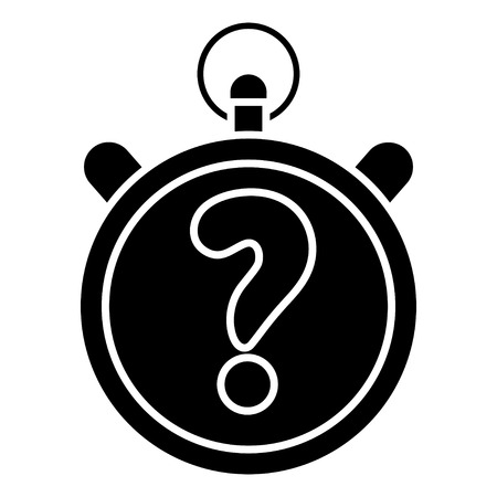 quiz stopwatch icon