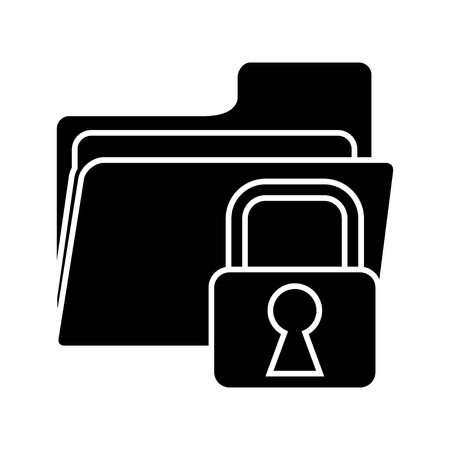 classified: folder secured icon