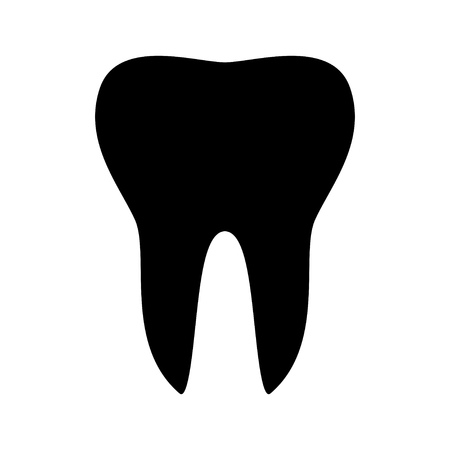 human anatomy: tooth icon