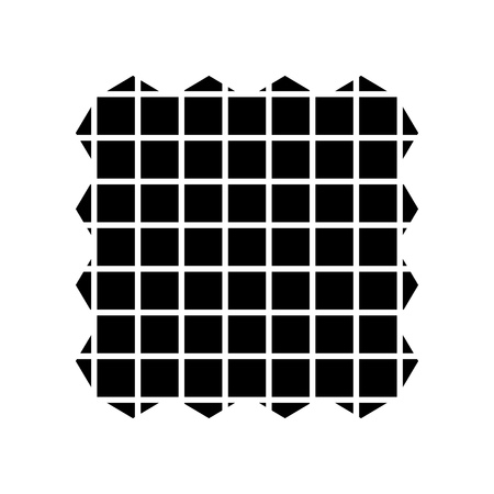 fabric sample icon Imagens - 80760226