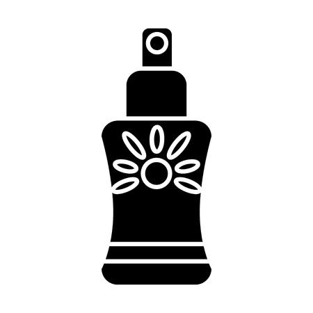 sun spray icon Illustration