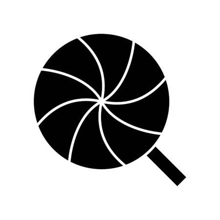lollies: classic lollipop icon Illustration