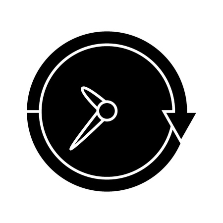 non: clock non stop icon