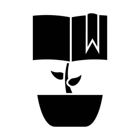 philosophic: growing book icon