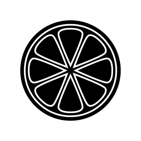 sliced grapefruit icon