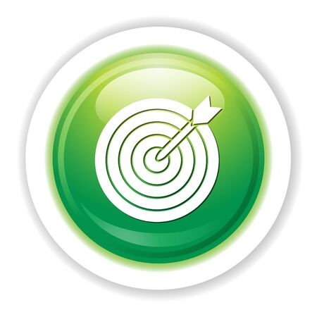 effectiveness: archery target icon